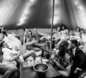 5m chill out bell tent