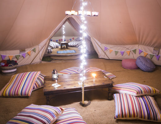 7m chill out bell tent
