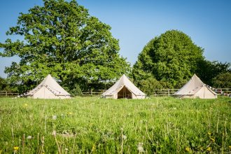 4m bell tents for glamping for weddings