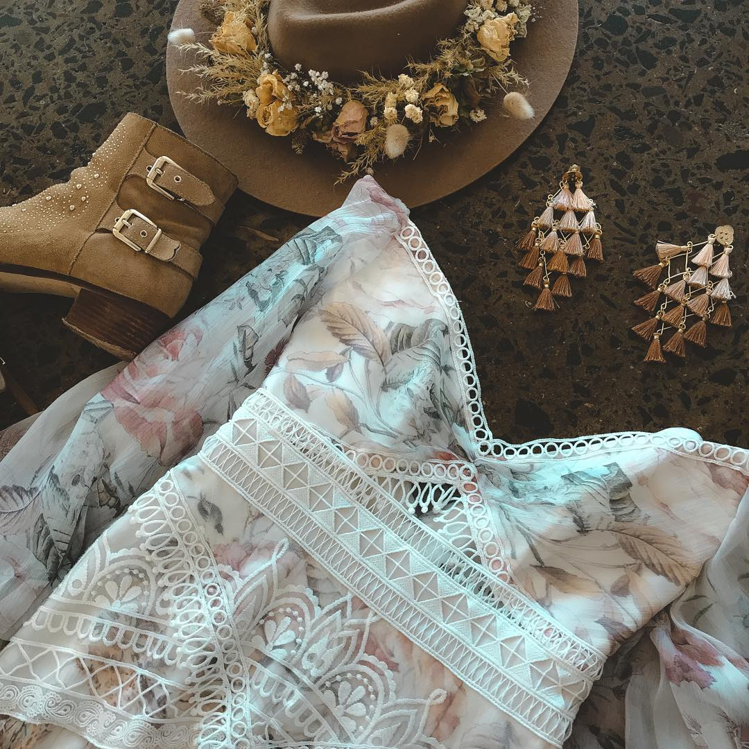 Festival wedding outfit