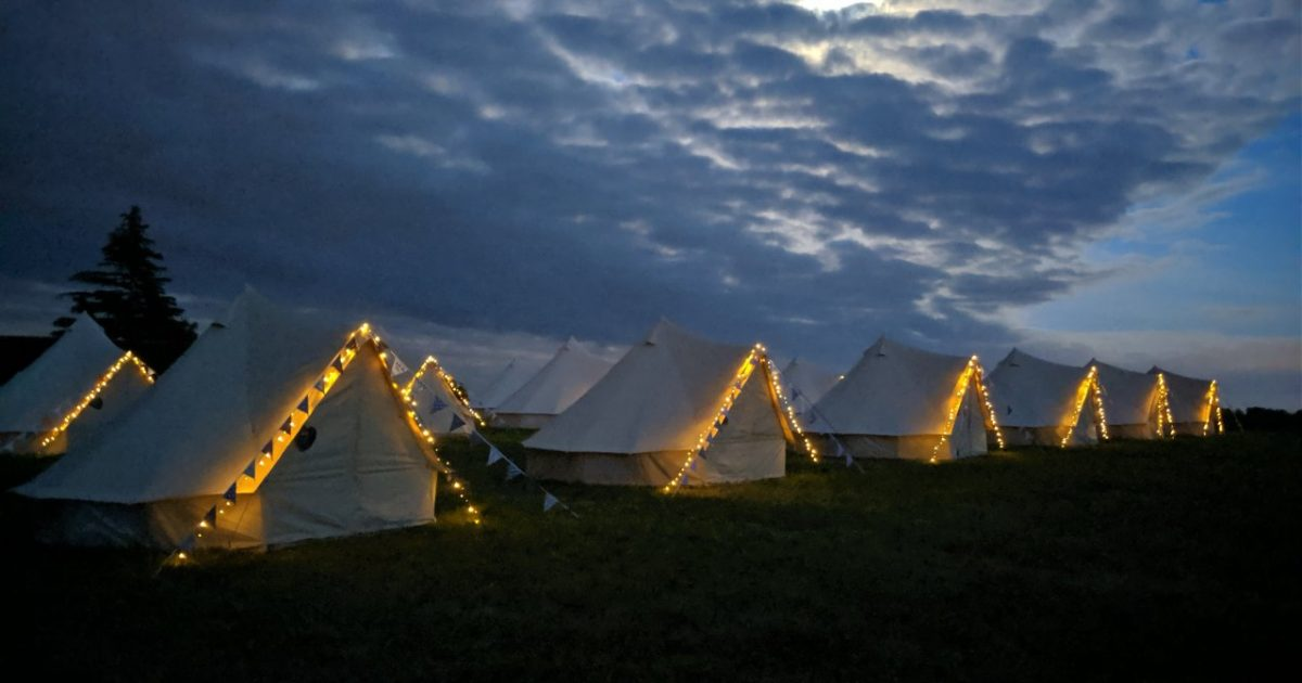 Bell Tent Hire For Festivals And Corporate
