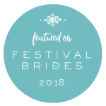 Festivals brides 2018 badge