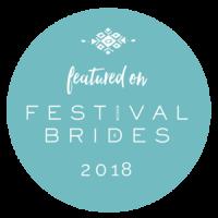 Festivals brides 2018 badge