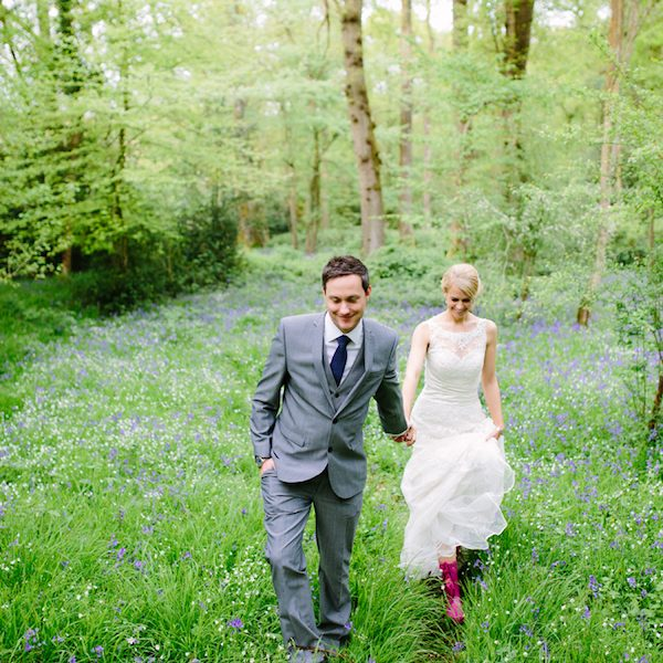 Jon and Rachael. Outdoor wedding inspiration. Bell tent hire West Sussex