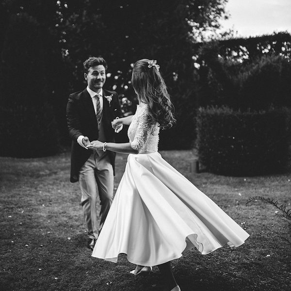Sarah and William. Bell tent hire Oxford