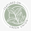 Green Union featured supplier badge.