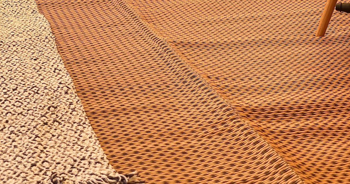 Photo of polypropylene matting for 5m bell for garden glamping